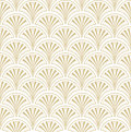 Floral seamless background abstract beige and white floral geometric seamless texture vector textile tile pattern on light Stock Photography