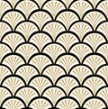 Floral seamless background abstract black beige and white floral geometric seamless texture vector textile tile pattern on light Royalty Free Stock Image