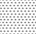 Floral seamless background abstract black and white floral geometric seamless texture vector textile tile pattern on light Royalty Free Stock Photos