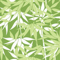 Floral seamless background. Bamboo leaf pattern. Floral seamless Royalty Free Stock Photo
