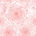 Floral seamless background. flower rose pattern. Stock Image