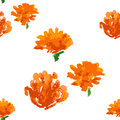 Floral seamless background, vector illustration Royalty Free Stock Photo