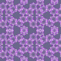 Floral seamless background wallpaper pattern Stock Photography