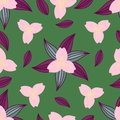 Floral seamless pattern. Abstraction