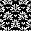Damask flowers seamless pattern. Baroque background. Floral wallp