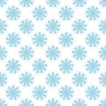 Floral seamless pattern. Blue and white abstract background