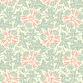 Floral seamless pattern flower garden vector floral background vintage style eps Stock Photo