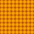 Floral seamless pattern in orange color Stock Images