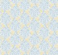 Floral seamless pattern in renaissance style Stock Photo