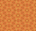 Floral seamless pattern in the russian style vector illustration Stock Photo