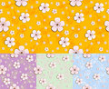 Floral seamless pattern / vector background Stock Photo