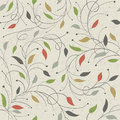Floral seamless pattern vector eps Royalty Free Stock Photography