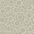 Floral seamless pattern. Vector illustration. Background. Floral shapes. Endless texture can be used for printing onto fabric and