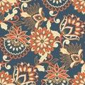 Floral Seamless Pattern. Vinta...
