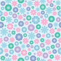 Floral seamless texture Stock Photos