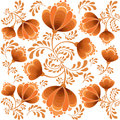 Floral seamless texture Royalty Free Stock Photo