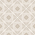 Floral seamless vector wallpaper and pattern Royalty Free Stock Image