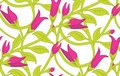 Floral Seamless Wallpaper Pattern Royalty Free Stock Photo