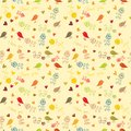 Floral seamless wallpaper, pattern Stock Photography