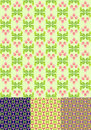 Floral spring seamless pattern  Royalty Free Stock Image