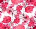 Floral Swirls Decorative Backg...