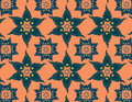 Floral thai patterns beautiful flora make with a program Royalty Free Stock Images