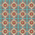 Stock Photo Floral Tile