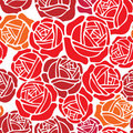 Floral wallpaper pattern with rose design Royalty Free Stock Photography