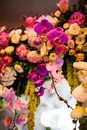 Floral wedding arch fragment of Royalty Free Stock Images