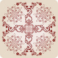 Florel calligraphic elements. vintage ornament Royalty Free Stock Photos