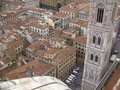 Florence aerial view of the cathedral Royalty Free Stock Images