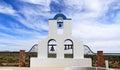 Florence, Arizona: St. Anthony`s Greek Orthodox Monastery - Bell Tower of St. Elijah Chapel Royalty Free Stock Photo