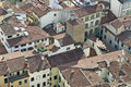 Florence from the bird flight Stock Photography