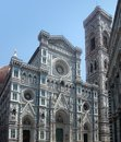 Florence cathedral part of the in italy Royalty Free Stock Images