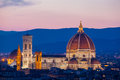 Florence, Cathedral of Santa Maria del Fiore Royalty Free Stock Photo