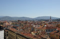 Florence center top view from campanile giotto on the historical of italy Royalty Free Stock Photography
