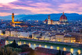 Florence cityscape in Tuscany, Italy Royalty Free Stock Photo