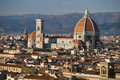 Florence, Duomo and Giotto's Campanile. Royalty Free Stock Photo