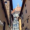 Florence Duomo Santa Maria del Fiore Royalty Free Stock Photo