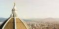 Florence famous landmarks Royalty Free Stock Photo