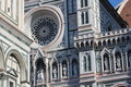 Florence, italy, cathedral, detail Royalty Free Stock Photo