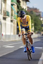 Florence italy september ben nacer hassen during the uci road world championships team time trial elite men in cyclism tour Stock Photo