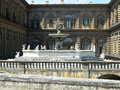 Florence Palazzo Pitti Royalty Free Stock Photo