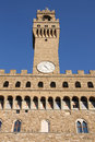 Florence - Palazzo Vecchio Royalty Free Stock Images