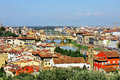 Florence and panoramic view, Firenze, Tuscany, Italy Royalty Free Stock Photo