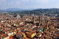 Florence panoramic view of tuscany Stock Photography
