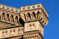 Florence, particular of the cathedral Sant Maria of Fiower Royalty Free Stock Photo