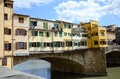 Florence - Ponte Vecchio bridge Royalty Free Stock Photo