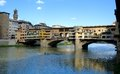 Florence - Ponte Vecchio bridge Stock Images