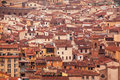 Florence roofs tops Royalty Free Stock Photo